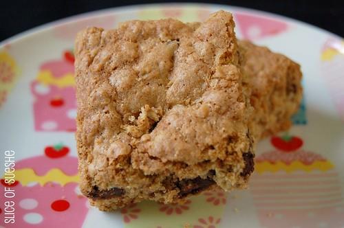 oatmeal chocolate chunk bars