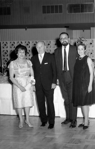 Sara and Irwin Clorfene, Richard Clorfene and Bonnie (1st wife).jpg