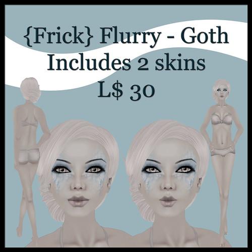 {Frick} flurry - goth ad