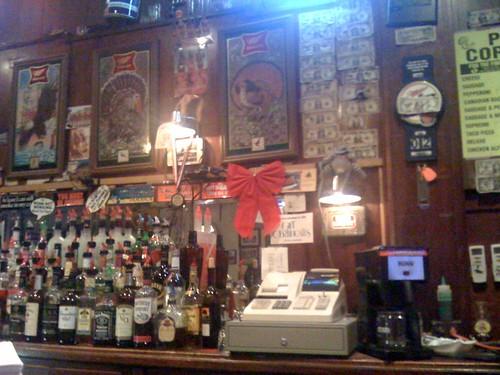 Fine booze, fine décor.
