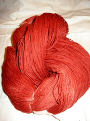 Kool-Aid Dyed yarn
