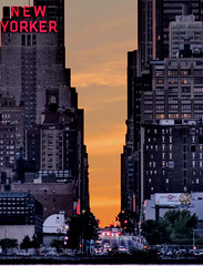 sunrise across 34th street, Manhattan
