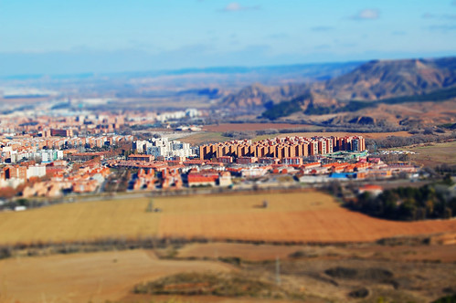 Nueva Alcalá desde el cerro del viso