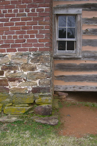 Cabin at the Cowpens Battlefield in Cowpens, South Carolina