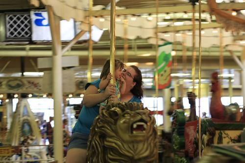 Amelia on the Carousel
