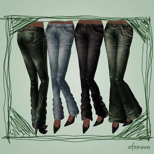 Zaara Jeans Leg Options