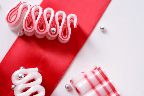 Peppermint Candy Ribbons