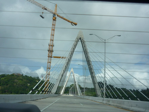 A new bridge on the road from Bayamon to Naranjito