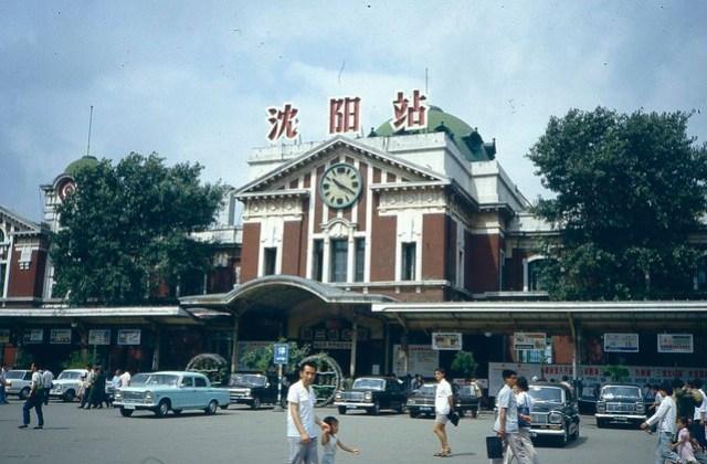 Shenyang railway station 1985