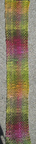 Noro Plaid Scarf