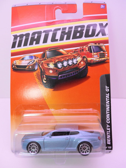 matchbox bentley continental GT (1)