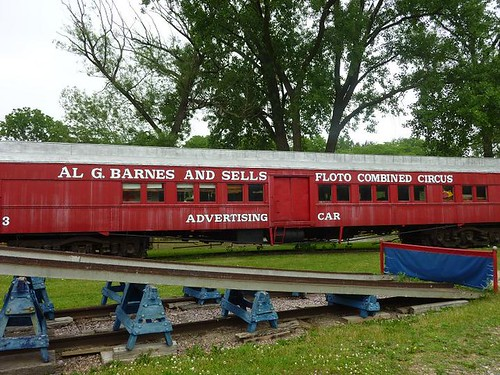 WI, Baraboo - Circus World Museum 35 - Train Cars
