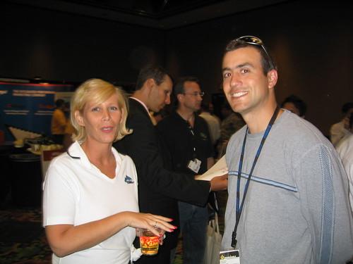 Missy Ward and Brian Littleton