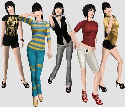 Armidi and Bland clothes