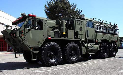Pierce/Oshkosh M1142 Tactical Firefighting Truck by code20photog.
