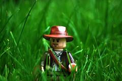LEGO Indiana Jones in Grass