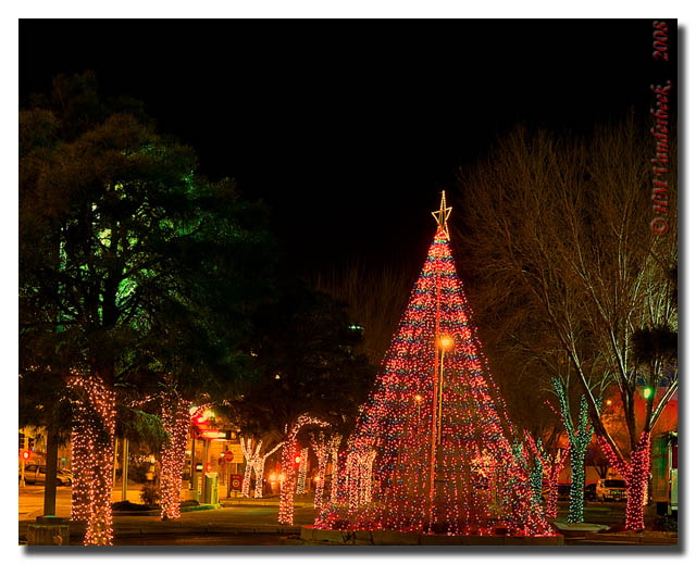 Wells Fargo Bank Christmas Display