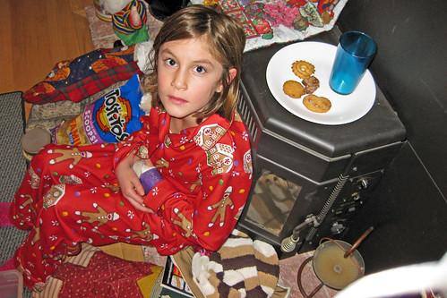 Santa didn't eat all his cookies