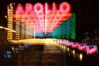 Apollo Theatre, Oberlin - Long Exposure with zooming