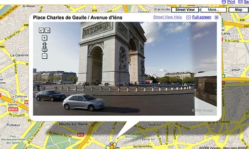 StreetView in Paris