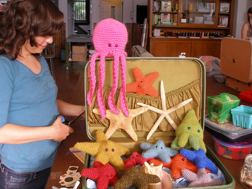 Trunk full of Starfish - photo by Karyn of the Workroom.