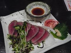 Day1-Dinner-杏屋-生牛肉沙拉