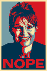 Sarah Palin Nope (No Hope)