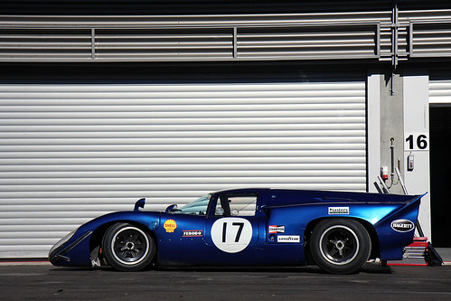 LOLA T70 Mk IIIB by Martin  Vincent.