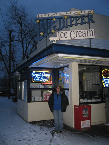 Big Dipper Ice Cream in Missoula