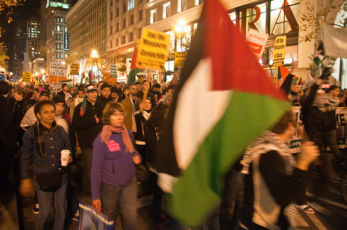Gaza Unity Protest in San Francisco