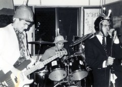 The Cleavers, on fire