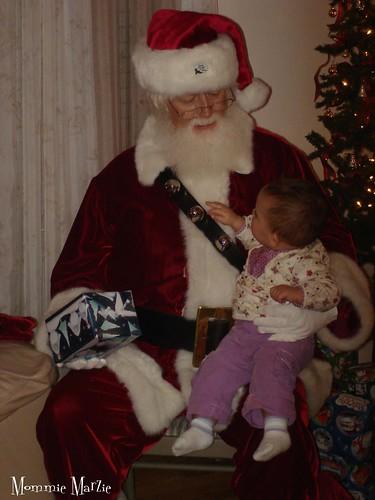 Sophie and Santa