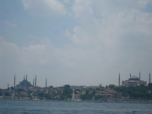 the Blue Mosque & Hagia Sofia