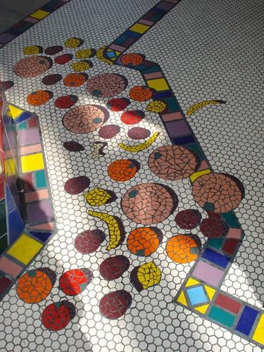 Disney Mosaic - floor detail