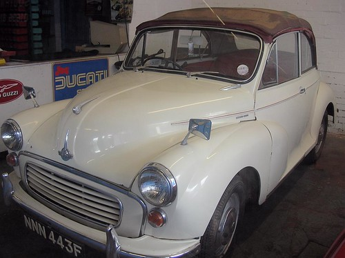 Morris Minor Convertible Southwell