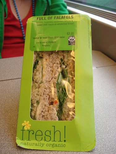 Tesco - vegan sandwiches by you.