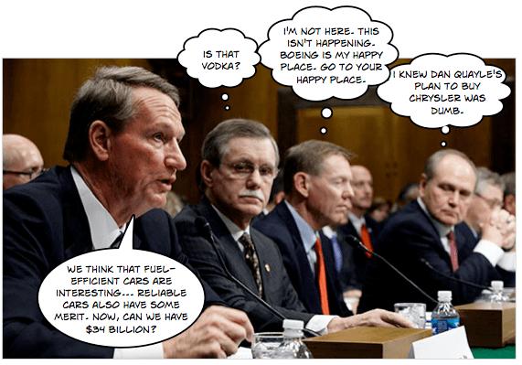 Mr. CEO goes to Washington