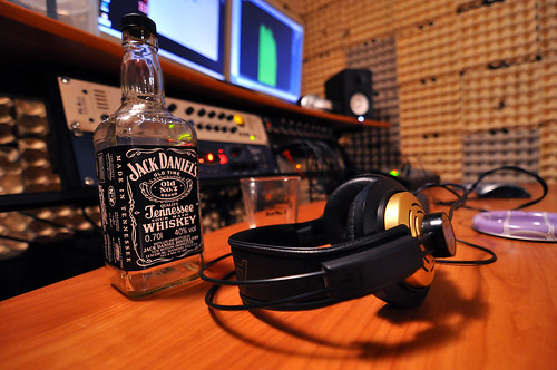 Alcoholic's studio
