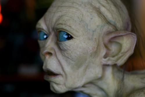 Sunday: Gollum at the Weta Cave