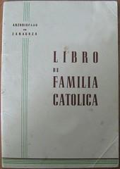 libro de familia católica