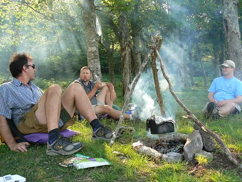 Campsite - Paul, Thomas, Bill