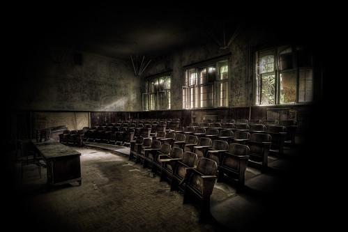 Beelitz lecture hall, by Ole Begemann