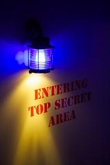 Top secret area