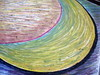 Black Curve, a Moon Mandala, Minneapolis, Minnesota, August 2008, photo © 2008 by QuoinMonkey. All rights reserved.