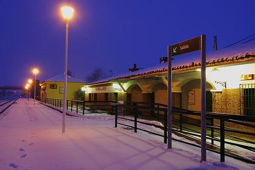 Estación - Andén principal