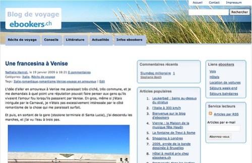 Blog de voyage ebookers.ch