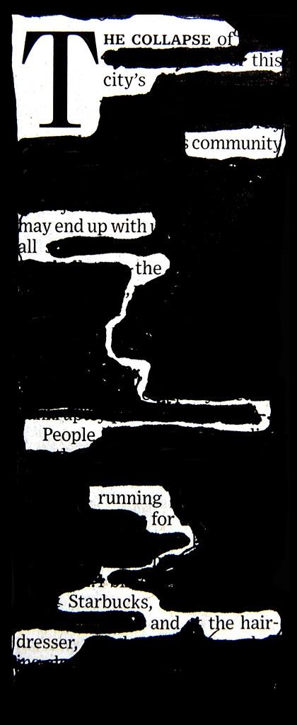 blackout poem