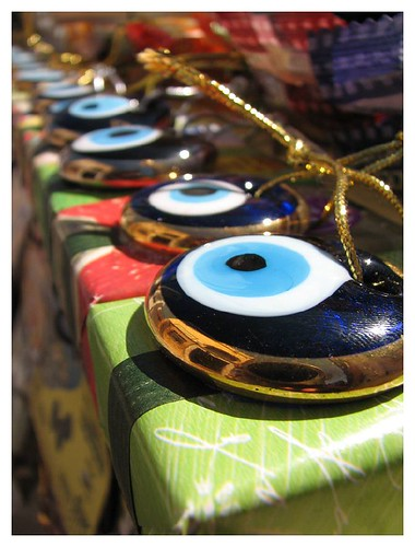 The evil eye and olive soap by you.