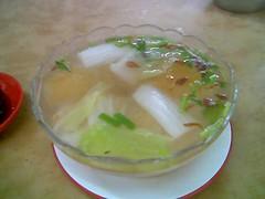 Sibu's A-Plus clear soup