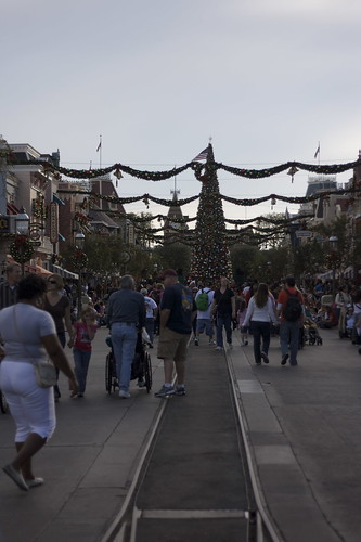 Main Street is all decked out